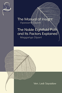 Cover picture of The Manual of Insight and Noble Eightfold Path and Its Factors Explained
