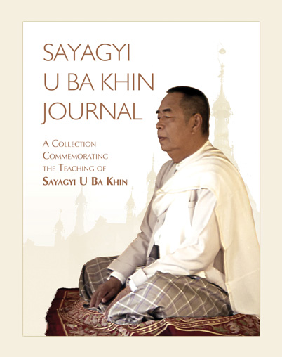 Cover of Sayagyi U Ba Khin Journal