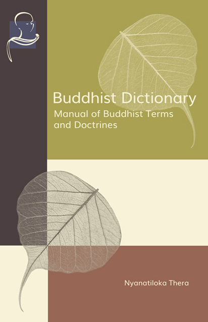 Cover of BUDDHIST DICTIONARY