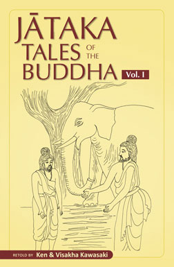 Cover of Volume 1 of Jataka Tales series